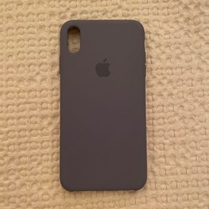 iPhone XS Max silicon Apple case